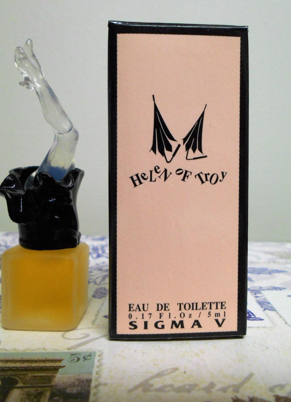 Helen of troy eau de toilette par mini bouteille de parfums for Deboucher toilette avec bouteille