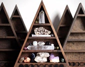 The Original Moon Phase Shelf Triangle Shelf for Crystal Display