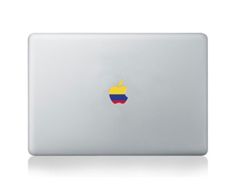 Apple Flag of Colombia Vinyl Sticker for Macbook (13/15) or Laptop