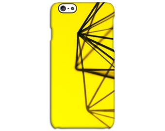 Yellow Wire Back Case for iPhone 4/4S 5/5S 5C 6/6S 6/6S Plus SE