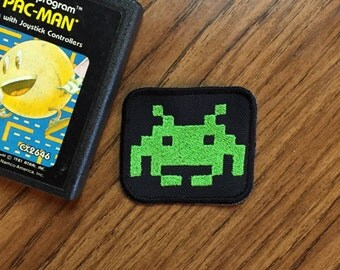 Atari patch: Space Invaders 2.5x2.5inch Sew-on patch