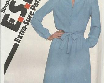 Simplicity 5278     Women's Pullover Dress       size 10,12,14    uncut