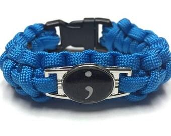 Semicolon Bracelet