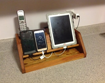 Wood Charging Station