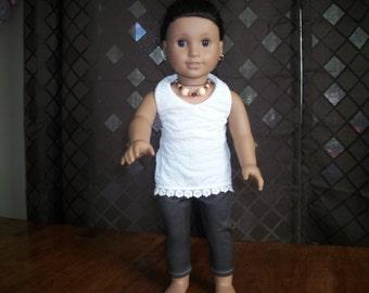 "Handmade 18"" Doll Leggings will fit any 18"" Doll"