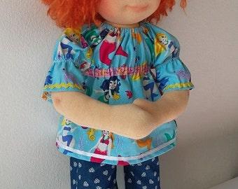Waldorf doll Lava 48 cm (19'')