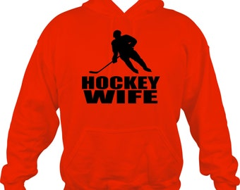 Hockey Wife Sweatshirt/ Hockey Sweatshirt/ Hockey Wife Hoodie Sweatshirt/ Hockey Gifts