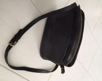 1976 Coach Leather Shoulder Bag