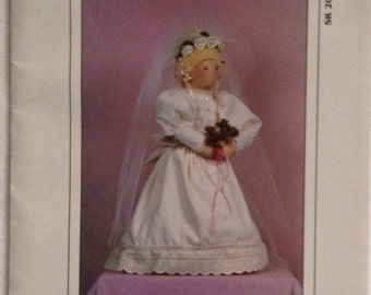 My Sister & I Pattern SR206 Victorian Bride Doll and Wedding Ensemble