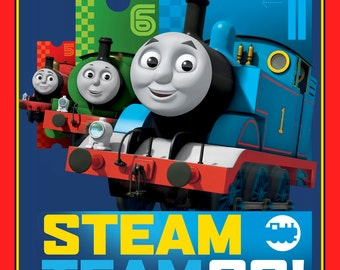 Quilt Kit Thomas the Train Steam Team K-198
