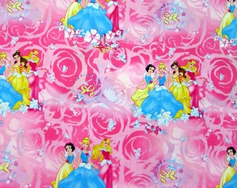 Disney Princess Blossom Scenic Fabric From Springs Creative By the Yard
