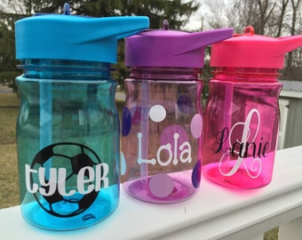 Personalized Water Bottles - BPA free- 12 ounces