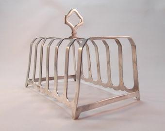 Elegant Solid Silver Toast Rack Hallmarked 1935