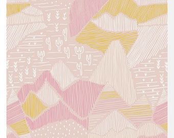 LORE by Leah Duncan for Cloud 9 Fabrics - Olympus Pink - 100% Organic Cotton (0.25m)