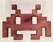 atari laser cut cedar wood
