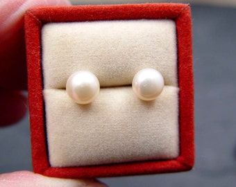 Pearl Stud Earring Classic Style Wear Alone Or With Earring Jackets HALF OFF NOW