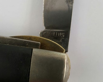 Vintage 1950's Camillus Electrician's knife/ stripper. US Army Signal Corps, US Navy Electricians Mate. TL-29