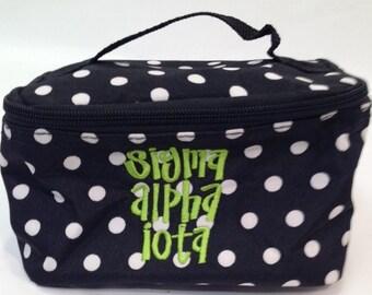 Sigma Alpha Iota Fabric Jewelry Bag