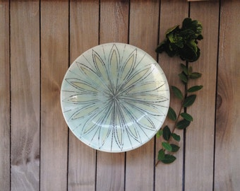 Wheel Thrown Jewelry Catch All Dish -- Small Shallow Bowl -- Set of 2