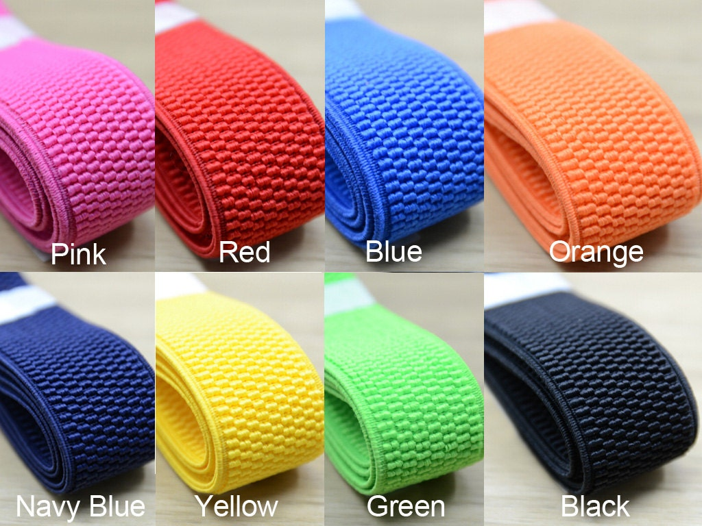 1 1 4 Inch 30mm Colored Woven Elastic Waistband Elastic