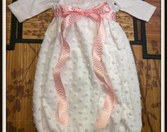 Infant Minky Gown