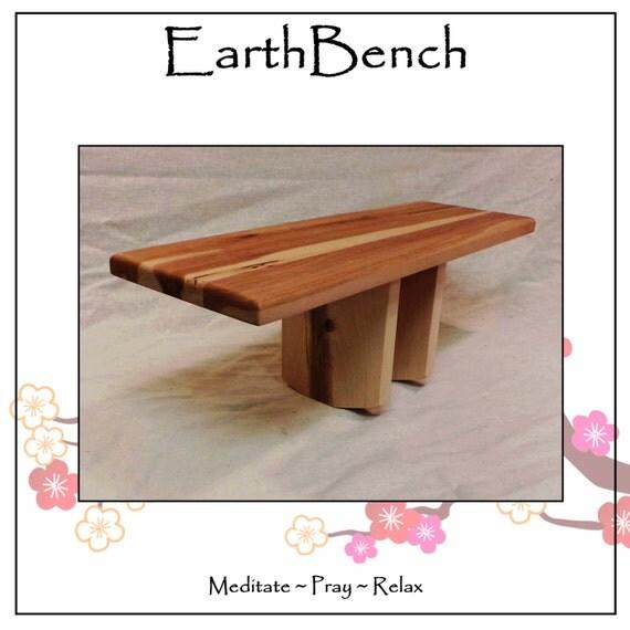 Seiza Meditation Benches