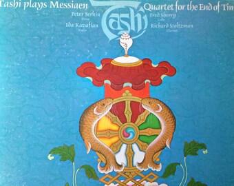 Tashi plays Messiaen - Quartet For The End Of Time -  vinyl record