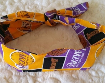 Los Angeles Lakers Adult Headband