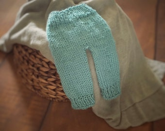 Newborn knit pants