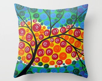cushion, case for cushion, cushion case, cushion cases, cushion cover, cushion covers, bright art, happy art, modern art, art , case only