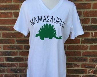 Family Dinosaur Shirts -- MAMASAURUS or DADDYSAURUS