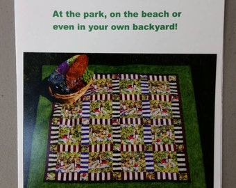 Park Side Picnic Quilt Pattern