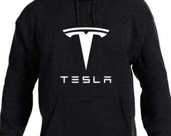 Tesla Motors Car Auto Electric Automobile Parts Hoodie