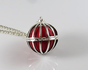 30% discount -Modern design cage Harmony ball,Mexican bola pendant,cage harmony ball,angel callerl ,pregnancy gift,