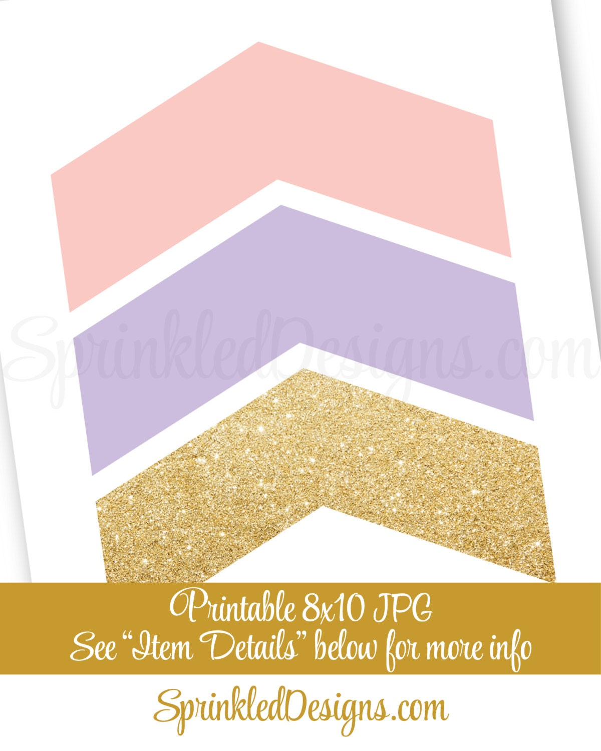 Chevron Arrows Printable Art, Arrow Wall Art, Arrow Wall Decor,Girls ...