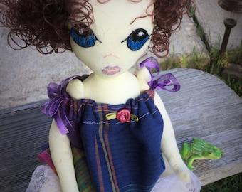 Cloth doll.