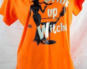 sample sale, huge sale, Halloween fun, witches tee