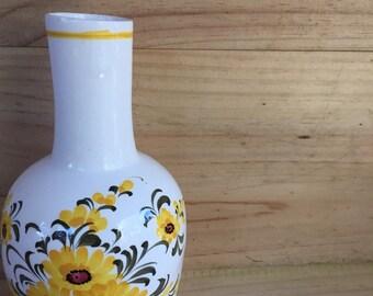 Handpainted 1960s Vase