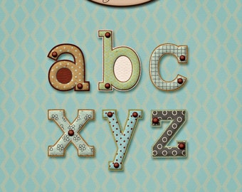 Digital Scrapbook: Alphabet, In My Day