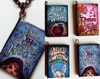 Fairy Tale Book Necklace
