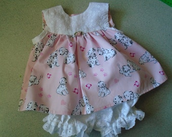 Little newborn dress to 14 lbs.