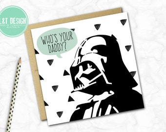Father's Day Card {Who's Your Daddy?}