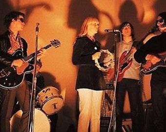 A3 Colour Photo Portrait Reprint Of The Velvet Underground With Nico