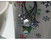 Stitch Markers - Grey Sil...