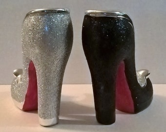 Red Bottom High Heel Ceramic Bud Vase