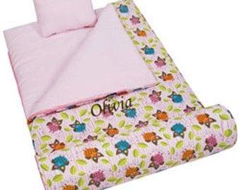 Personalized Owls Sleeping Bag
