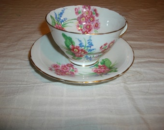 Vintage  Sutherland English Tea Cup and Saucer