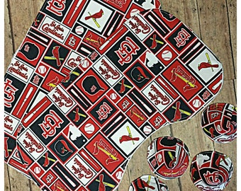 St Louis Cardinals contoured burp cloth Pee-pee tee-pees Set of  sc 1 st  Etsy & Red tee pee tent | Etsy