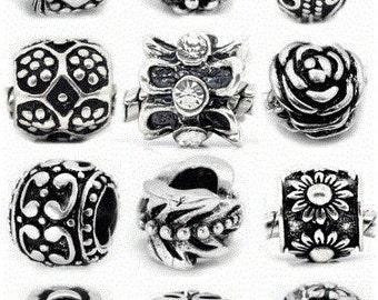 Umbrella Charm European Bead for snake charm bracelets