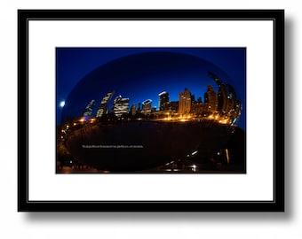 Cloud Gate, bean Chicago, art and architecture, photography, color, decor, millennium park